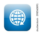 global earth communication icon | Shutterstock .eps vector #398560891