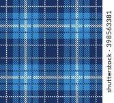tartan seamless pattern. trendy ... | Shutterstock .eps vector #398563381