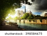 Seine And Notre Dame De Paris ...