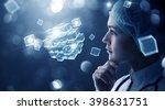 innovative technologies in... | Shutterstock . vector #398631751