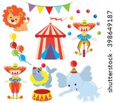 circus  vector illustration | Shutterstock .eps vector #398649187