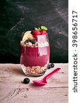 deliciously sweet acai fruit... | Shutterstock . vector #398656717