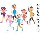 senior to run well | Shutterstock .eps vector #398657299