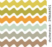 abstract pattern. wavy... | Shutterstock .eps vector #398666401