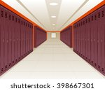 Vector Illustration Of Locker...