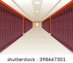 vector illustration of locker...   Shutterstock .eps vector #398667301