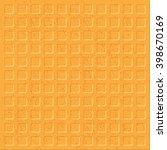 texture wafer | Shutterstock .eps vector #398670169