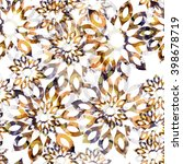 Abstract Pattern Floral Design...