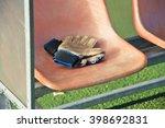soccer bench | Shutterstock . vector #398692831