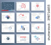 infographics  brochures and... | Shutterstock .eps vector #398716855