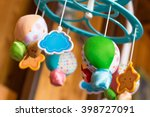 child toy musical mobile air... | Shutterstock . vector #398727091