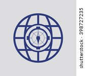 the compass icon. compass...