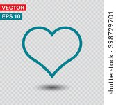heart  linear icon. one of a...