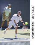 Small photo of WESTWOOD, CA - JULY 19: Dmitry Tursunov (pictured) playing against Vincent Spadea at the US Open Series Countrywide Classic on 7/19/07.