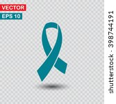 awareness ribbon icon. one of... | Shutterstock .eps vector #398744191