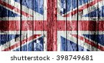 union jack flag representing... | Shutterstock . vector #398749681