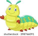 Cute Caterpillar Presenting