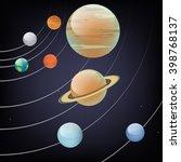 vector illustration of solar...   Shutterstock .eps vector #398768137