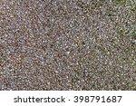 small gravel pebble texture... | Shutterstock . vector #398791687