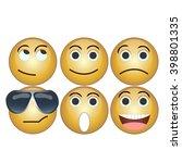 smiles vector   Shutterstock .eps vector #398801335