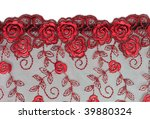 Decorative Lace With Pattern On ...