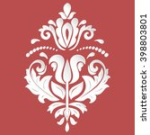 oriental vector pattern with... | Shutterstock .eps vector #398803801