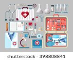 set stock vector illustration... | Shutterstock .eps vector #398808841