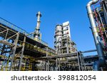 oil and gas industry against... | Shutterstock . vector #398812054