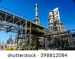 oil and gas industry against... | Shutterstock . vector #398812084