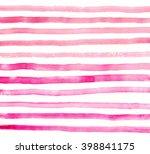 pink watercolor background.... | Shutterstock . vector #398841175