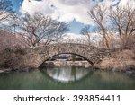 gapstow bridge in early spring  ... | Shutterstock . vector #398854411