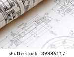 detail of a drawing  and... | Shutterstock . vector #39886117
