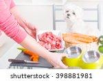 preparing natural natural ... | Shutterstock . vector #398881981