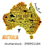 Typography Poster. Australia...