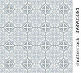 seamless tile with victorian... | Shutterstock .eps vector #398905081