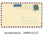 Airmail Envelope. Vector Base...