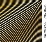 concentric radiating circles... | Shutterstock .eps vector #398918281