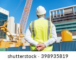 engineer builder at... | Shutterstock . vector #398935819