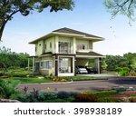 3d rendering   thailand...   Shutterstock . vector #398938189