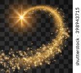 meteorite background.with... | Shutterstock .eps vector #398943715
