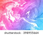 beautiful abstract background.... | Shutterstock . vector #398955664
