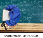 backpack. | Shutterstock . vector #398978035