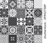 big set of tiles background.... | Shutterstock . vector #399027589