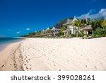 beautiful views of the resort... | Shutterstock . vector #399028261