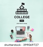 college education knowledge... | Shutterstock . vector #399069727