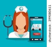 medicine online design  | Shutterstock .eps vector #399080611