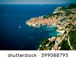 Croatian Coast  View Of The Sea