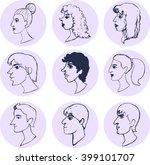 men and women graphic. vector... | Shutterstock .eps vector #399101707