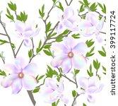 seamless pattern floral... | Shutterstock .eps vector #399117724