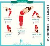 sport and fitness infographics. ...   Shutterstock .eps vector #399126055